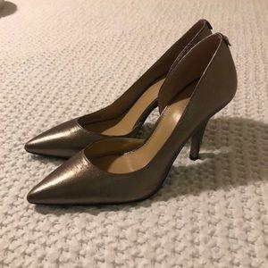 Michael Kors metallic heels sz 8.5